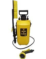 マルハチ産業 お掃除用 ポンプ式 水圧クリーナー ウォッシュ & クリーン EX 7L