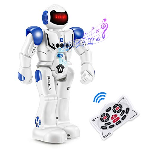 RC Remote Control Robot Toys for Kids - Smart Gesuture Sensing Robot Programmable Interactive Infrared Sensing Robot, Singing Dancing & Walking Robot Toy Birthday & Christmas Gift for Kids Boys