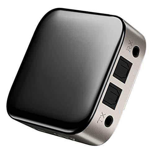 Esenlong 2 en 1 BT5. 0 transmisor receptor SPDIF+3. 5mm Jack adaptador de audio inalámbrico para TV PC coche señal dispositivo