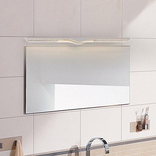 5151BuyWorld Lamp spiegellamp 40 cm 120 cm LED-lamp spiegel badkamer muur glas waterdicht anti-mist kort roestvrij staal modern LED-licht hoge kwaliteit