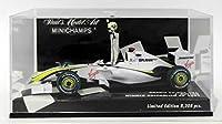 【MINICHAMPS/ミニチャンプス】1/43 ブラウンGP メルセデス BGP001 J.バトン オーストラリアGP 2009 優勝