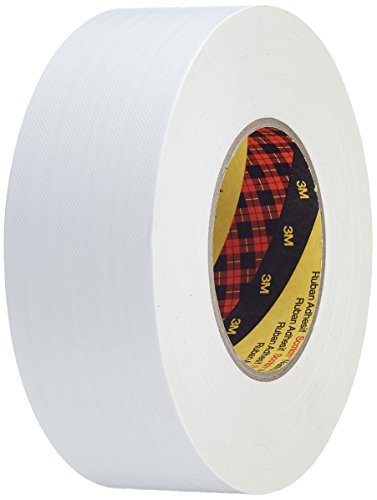 Scotch 7000111466 Cinta Americana de Altas Prestaciones, 50 mm X 50 m, 1unidad, Blanco