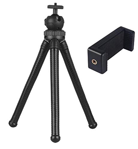 Kamron GP-01 Multi-Functional, Flexible Mini Gorilla Tripod with Mobile Holder for Go-pro, DSLR Cameras, Mobile (GP-01 with Universal MONOPOD Holder)