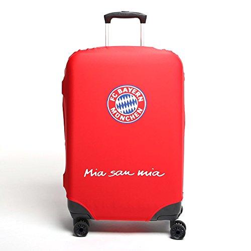 MarkenMerch Kofferhülle FC Bayern München Koffer, 68 cm, Rot Mit Logo