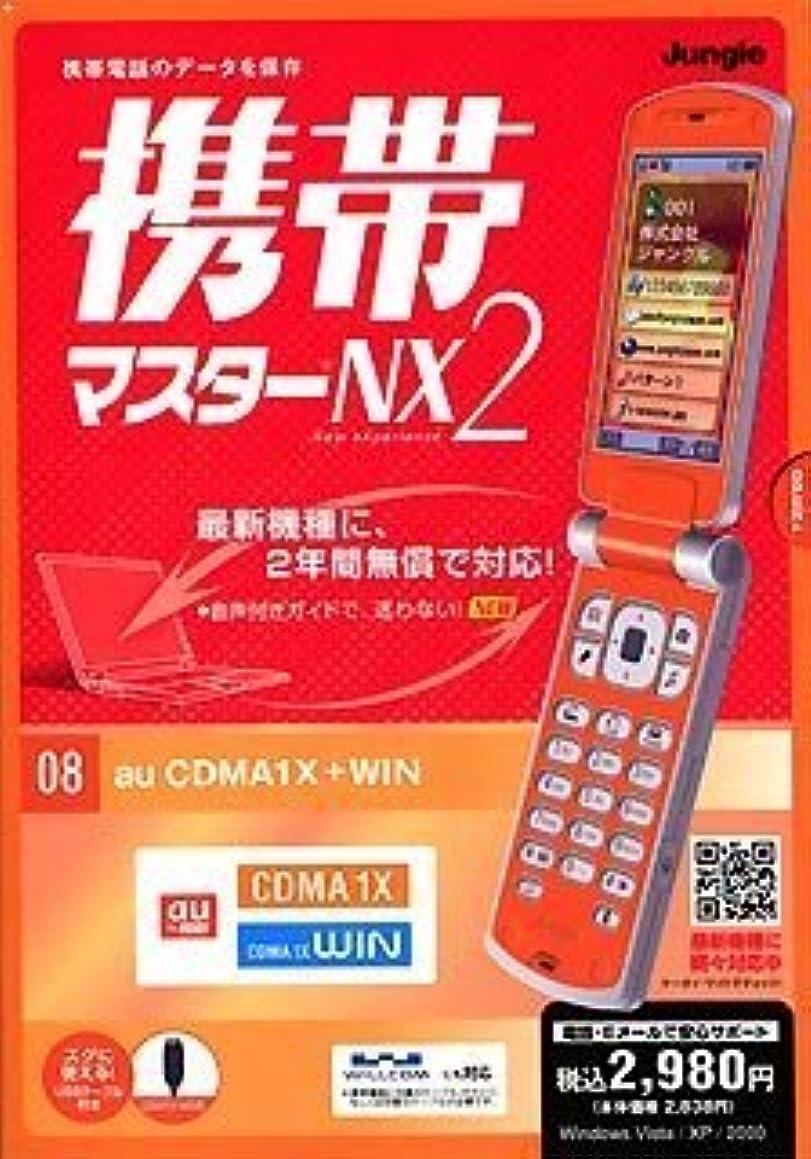 落胆させる多くの危険がある状況統合携帯マスターNX2 CDMA1X+WIN