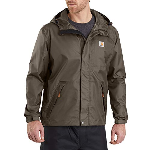 Carhartt Men's Big & Tall Dry Harbor Jacket, Tarmac, 3X-Large/Tall