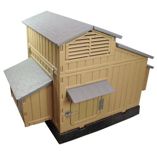 SnapLock Formex Large Chicken Coop Backyard Hen House 4-6...