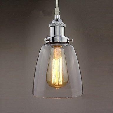 Moderne kroonluchter plafondlampen hanger modern retro chroomglas industriële onderdelen van Edison Chandelier Cafe Restaurant Kitchen Porch Lights 3C Ce Fcc Rohs voor woonkamer slaapkamer