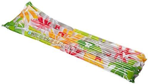 """Intex Inflatable Fashion Air Mat, 72"""" X 27"""", 1 Pack (Colors May Vary)"""
