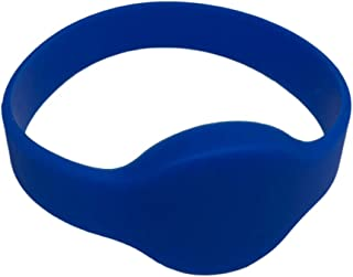 2 Blue 26 Bit Proximity Wristbands INTELLid Weigand Prox Wrist Band Compatable with ISOProx 1386 1326 H10301 Format Readers. Works with The vast Majority of Access Control Systems