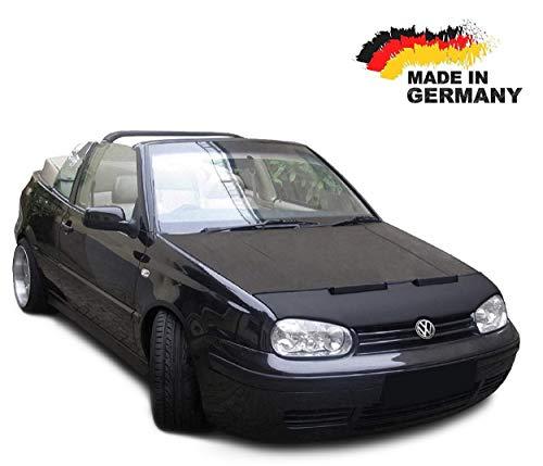 Black-Bull kompatibel mit Haubenbra VW Golf 4 Cabrio Steinschlagschutz Tuning Automaske