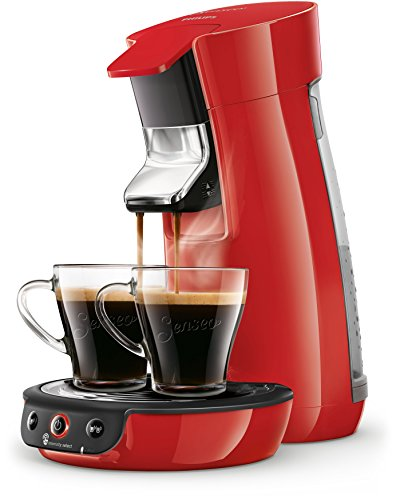 Senseo Viva Caf? HD6563/80 coffee maker Freestanding Pod coffee machine Red 0.9 L 6 cups Fully-auto Viva Caf? HD6563/80, Freestanding, Pod coffee machine, 0.9 L, Coffee pod, 1450 W, Red