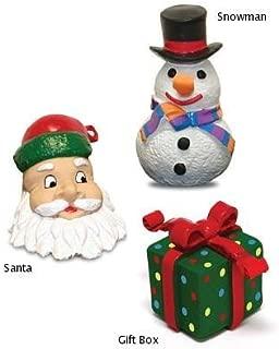 Premier Pet Squeeze Meeze Pet Toy- Santa Claus