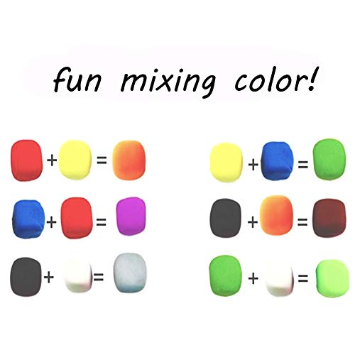 36 Color Ultra Light Air Dry Clay with Tools DIY Magic Clay as Best Crafts Present for Kids