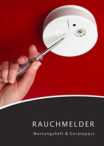 Lobsinger 5X Rauchmelder Wartungsheft & Gerätepass für Eigentümer, 13 Jahre verwendbar! Vorteilspack