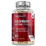 Cetonas De Frambuesa Plus 180 Cpsulas Dietticas de Raspberry Ketone Plus -...