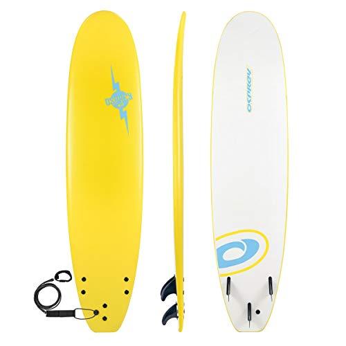 Osprey Surf Surfboard, Unisex, Foamie, gelb, 7.2-Inch