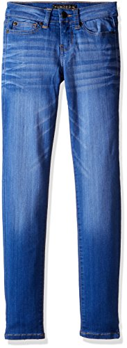 Celebrity Pink Girls' Big Celebrit Pink Infinite Stretch Super Soft Denim Skinny, Blue Lagoon, 12