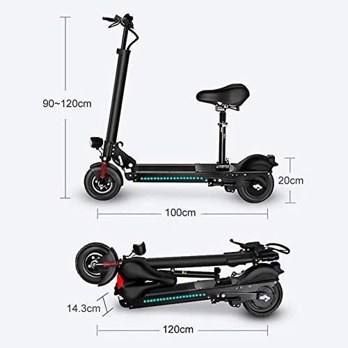 ZDW Bicicleta eléctrica Scooter eléctrico - 36V / 350W plegable E-Scooter de...