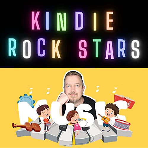Kindie Rock Stars Podcast By Patrick Adams cover art