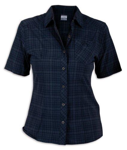 Tatonka Marti Chemise pour Femme, Femme, C161, Bleu Nuit, 44
