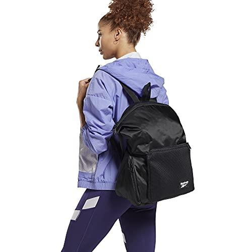 Reebok W Tech Style Backpack Mochila, Mujeres, Negro/Negro (Negro), Talla Única