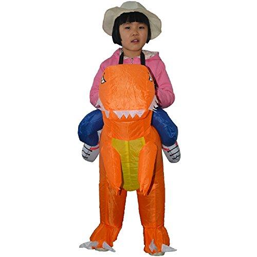 YOWESHOP - Disfraz Hinchable para niños, diseño de Dinosaurio