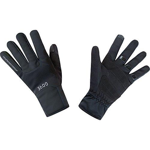 GORE Wear Guantes cortavientos unisex, M GORE WINDSTOPPER Thermo Gloves, Talla: 11, Color: Negro, 100310