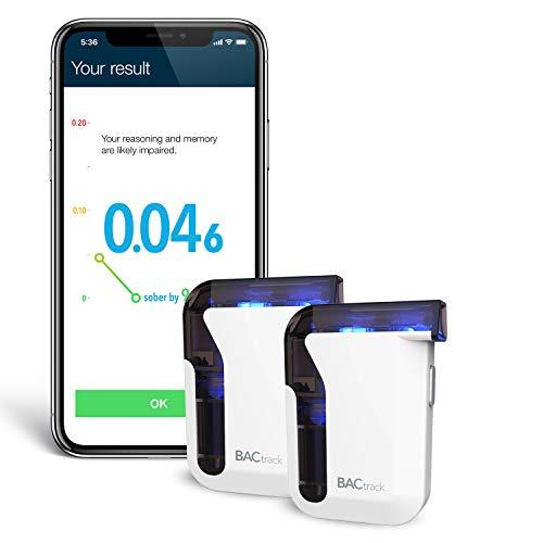 BACtrack Mobile Smartphone Breathalyzer (2 Pack) | Professional-Grade...