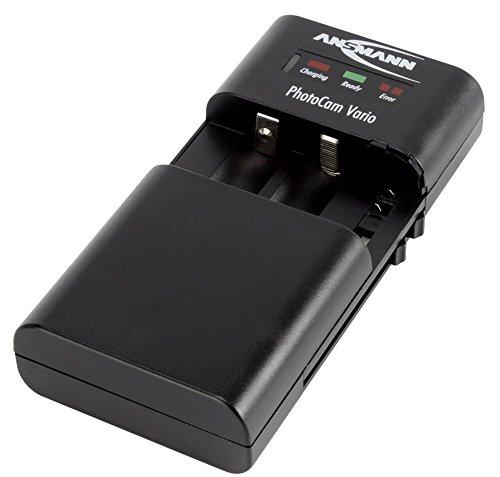 Ansmann PhotoCam Vario - Cargador Universal para baterías de cámaras (AA/AAA)