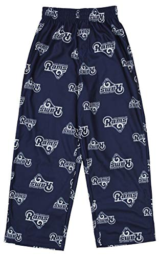 Outerstuff NFL Youth Boys (8-20) All Over Print Fleece Pant, Los Angeles Rams Large (14-16)