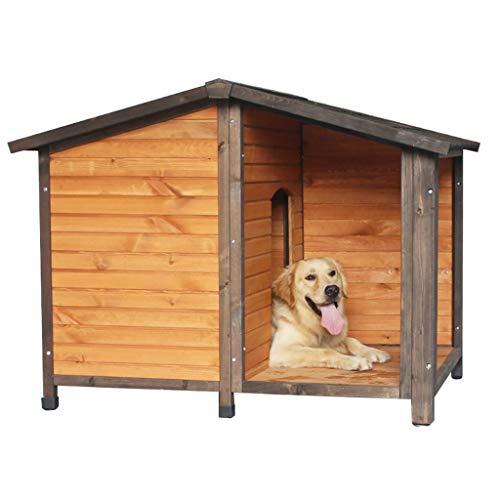 Cucce Per Cani Cani Impermeabili da Esterno Cani con Porte E Finestre Cani Resistenti al Carico per Cani di Piccola E Media Taglia Cani Coibentate