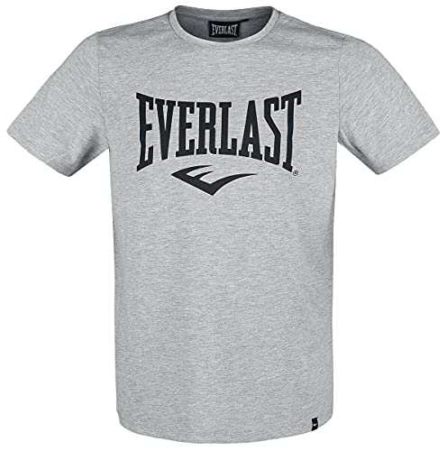 Everlast Sports - Camiseta de Manga Corta para Hombre, Color Gris Chino, FR: L (Talla Fabricante: L)