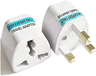 GOUWEI 300pcs Universal UK Power Adapter US USA AU European EU to UK British AC Travel Plug Adapter Socket Electric Charger Outlet