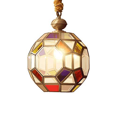 American Lights - Luces de entrada, luces de balcón, luces de entrada, estilo árabe, pequeñas, candelabro americano, E27