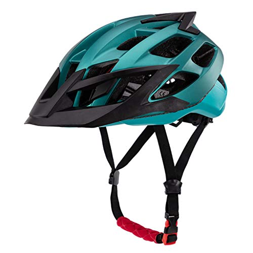 BIlinli Uomo Donna Unisex Ultralight MTB Casco da Bici Mountain Riding Bicicletta Ciclismo Cappellino di Sicurezza Cappello