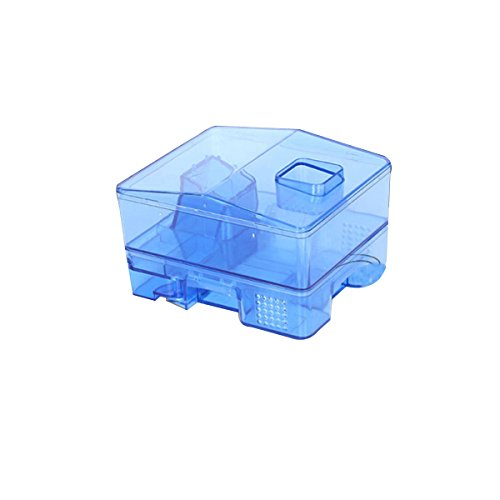 OUNONA Reusable Cockroach Traps Roach Busters Trapping Box Cockroach Catcher for Kitchen Bathroom Toilet Blue