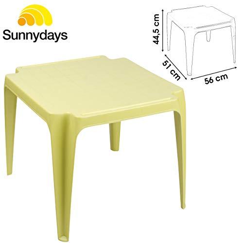 Lifetime Table Basse OU DE Jeu pour Enfant pour Camping Salon Chambre Jardin Interieur OU Exterieur Meuble