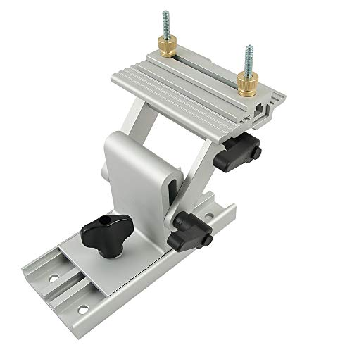 O skool Adjustable Replacement Tool Rest Sharpening Jig for 6 inch or 8 inch Bench Grinders and Sanders BG