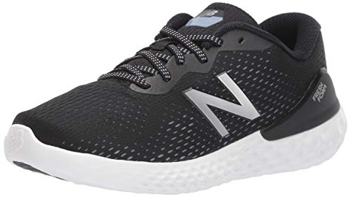 New Balance Women's Fresh Foam 1365 V1 Walking Shoe, Black/Purple/Silver Metallic, 7.5 XW US