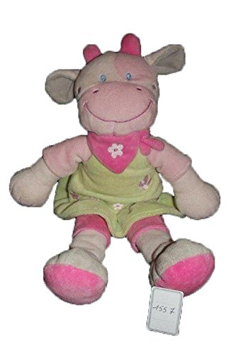 Kiabi – Doudou kitchoun Kiabi Nicotoy vaca rosa vestido