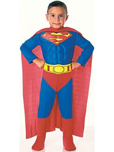 Superman Muskel-Kostüm Größe 5 -7