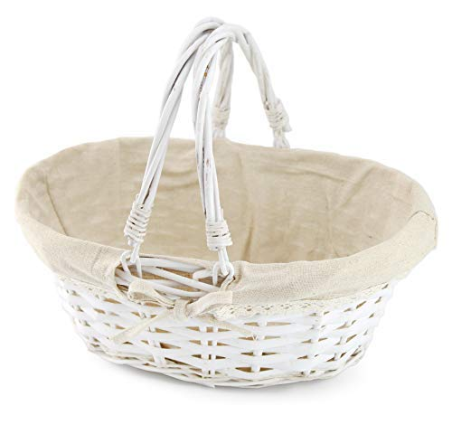 Wicker Basket with Handles