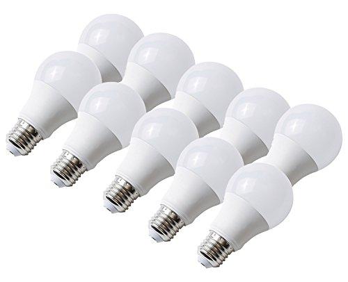 10 x LED-Lampe E27 10 W Warmweiss Abstrahlwinkel 300 Grad; Kanlux