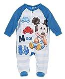 Mickey Mouse, Pyjama Dors Bien Bébé Garçon, Bleu, 24 mois