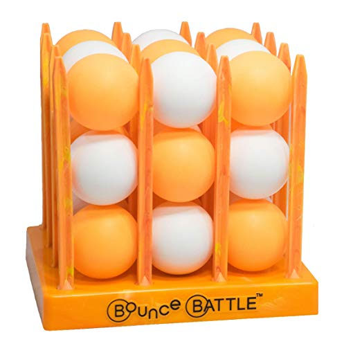 Bounce Battle Marbled Edition Game Set - an Addictive Game of Strategy, Skill & Chance