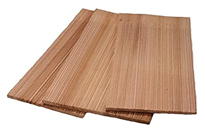 """18"""" Western Red Cedar Natural Grooved 1 Square Cartons"""