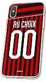 MYCASEFC Coque Foot Milan AC Sony Xperia XA1 Plus Coque Football Personnalisable en Silicone. Housse...