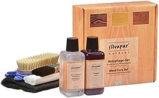KERALUX Silvapur Holzpflege Set mit Holz Pflege 225 ml und Holz Entgrauer Holz Reiniger 225 ml für Outdoor Möbel. Von LCK Keragil. Sehr ergiebig!