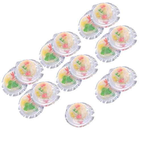ABOOFAN 15Pcs Latex Kondome Leichte Erwachsene Weiche Kondome Bunte Paar Spielen Kondome Homosexuell Sex Vergnügen Produkte (Gelegentliche Farbe)